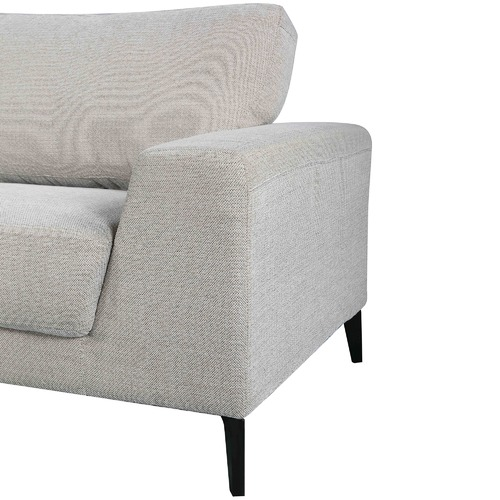 Southern Stylers Light Grey Hanna 2 Seater Sofa