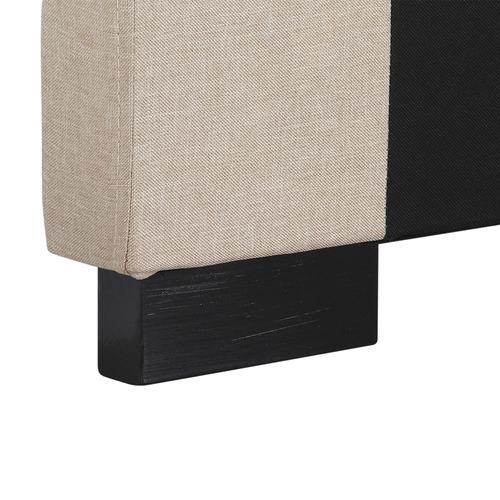 Southern Stylers Cilantro Queen Linen Headboard