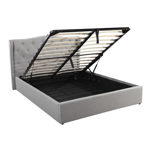 Southern Stylers Verona Gas Lift Storage Queen Bed Frame