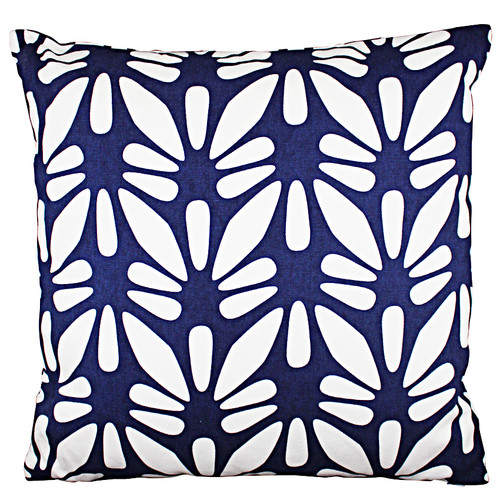 The Medford Collective Oahu Blue Cushion
