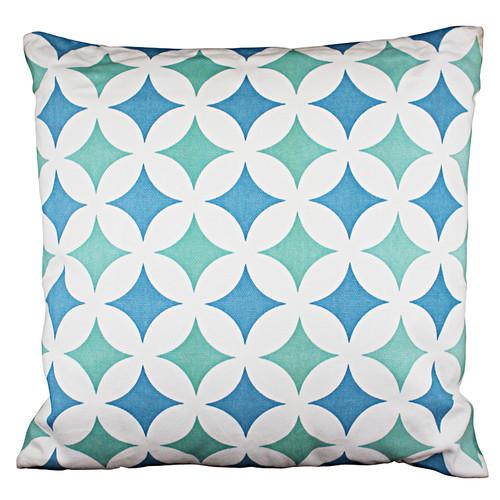 The Medford Collective Melilla Blue Cushion