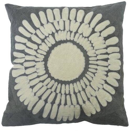 The Medford Collective Isa Grey Cushion