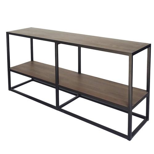The Medford Collective 2 Shelf Tall Prato Console
