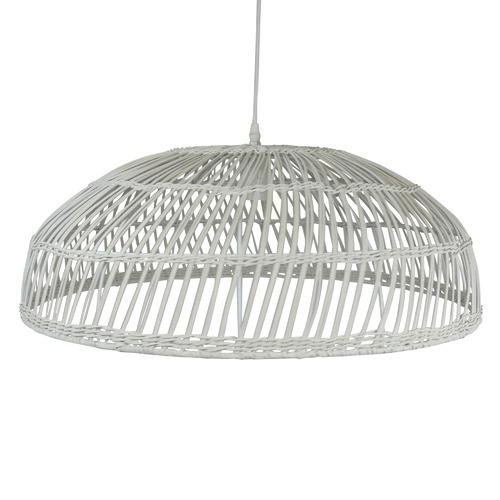The Medford Collective Tora Rattan Pendant Light