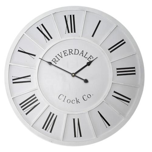 Lifestyle Traders 60cm Riverdale Rod Wall Clock