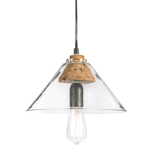 light chic products pendant chandeliers clear campana glass