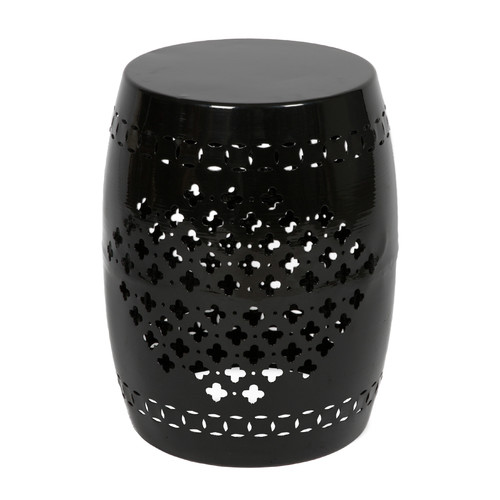 Casa Uno Iron Barrel Stool