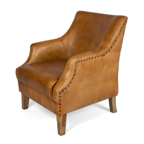 Lifestyle Traders Eldon Leather Armchair