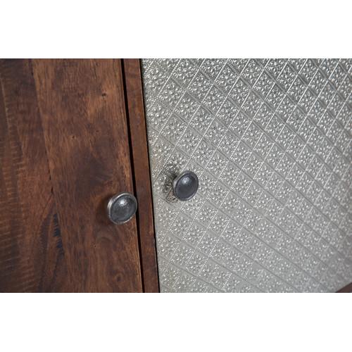 Lifestyle Traders Large Fraser Wood & Metal Sideboard