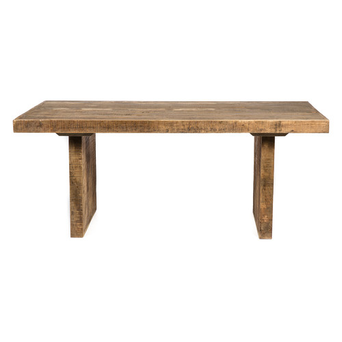 0f7138b4ab Swazi 6 Seater Rectangular Mango Wood Dining Table | Temple & Webster