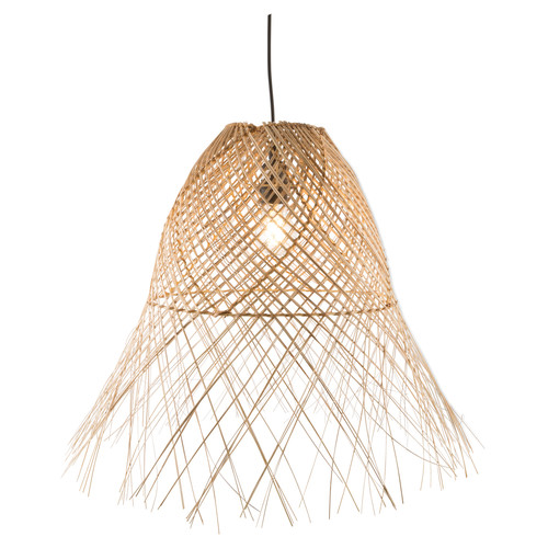 Lifestyle Traders Coco Wicker Weave Pendant Light