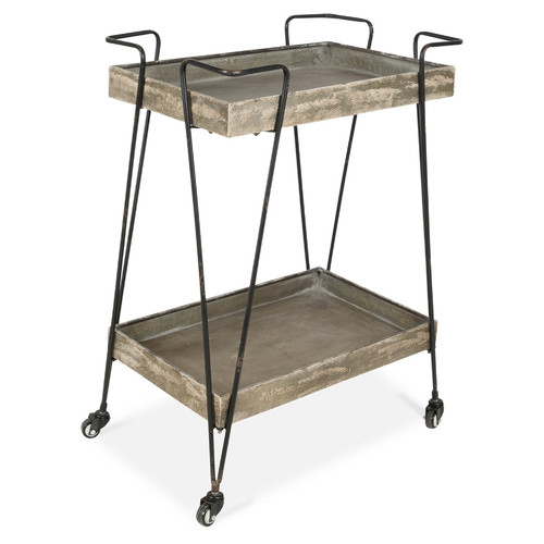 Lifestyle Traders 2 Tier Iron Butler Trolley