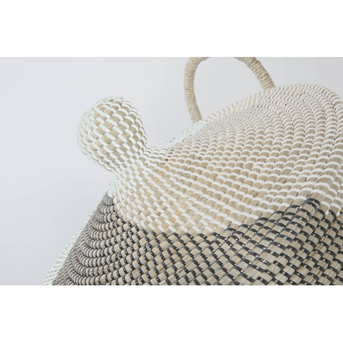 Lifestyle Traders Seagrass Swirl Basket