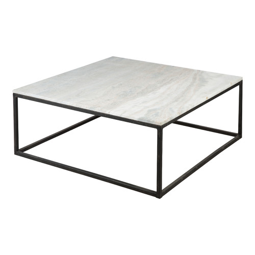 Stone Base Coffee Table.Harvey Stone Square Coffee Table With Black Base