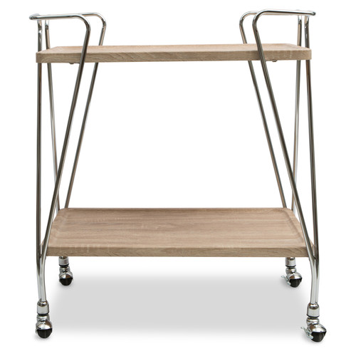 Lifestyle Traders Emma 2 Level Modern Drinks Trolley