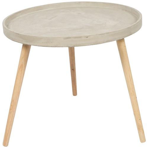 Lifestyle Traders Medium Round Concrete Coffee Table