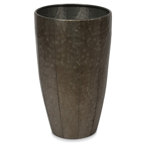 Lifestyle Traders Assorted Set Of 3 Metal Planter Pots