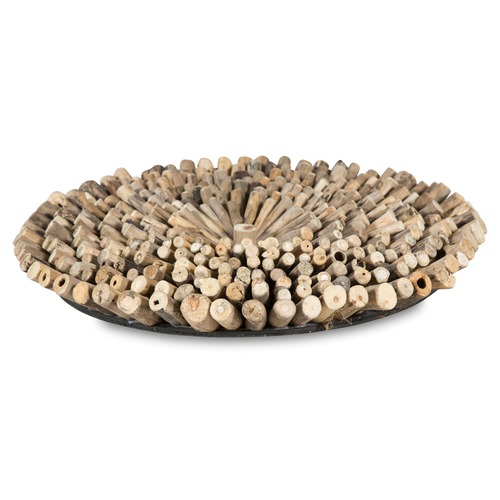 Lifestyle Traders Natural Round Driftwood Wall Art