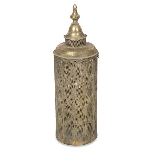 Aladdin sheza metal filigree lantern temple webster lifestyle traders aladdin sheza metal filigree lantern aloadofball Images