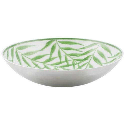 Lifestyle Traders Aluminium Palm Leaf Design Round Bowl  sc 1 st  Temple u0026 Webster & Aluminium Palm Leaf Design Round Bowl | Temple u0026 Webster