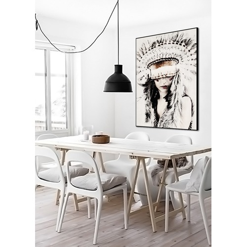 Lifestyle Traders Boho Babe Wall Art