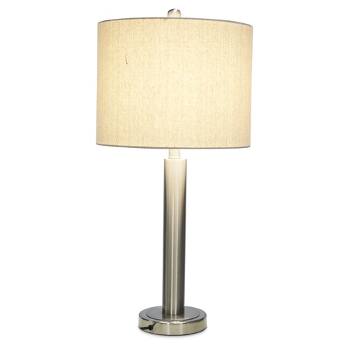 Lifestyle Traders Tall Metal Contemporary Table Lamp