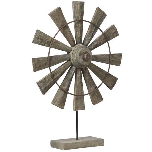 Lifestyle Traders Rural Mango Wood Windmill