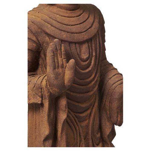 Lifestyle Traders Terracotta Banyu Tall Standing Buddha Statue