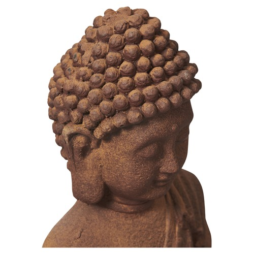 Lifestyle Traders Terracotta Banyu Offering Buddha Statue