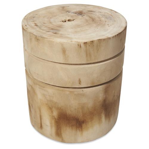 Lifestyle Traders Neve Wood Stool & Planter