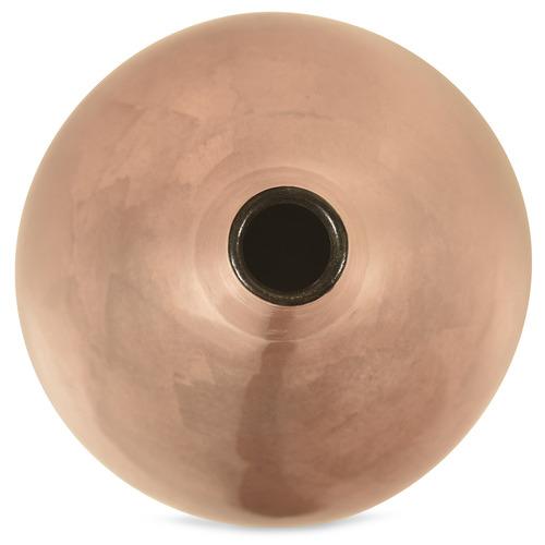 Large Pink Gloss Cindy Ceramic Bottle Vase
