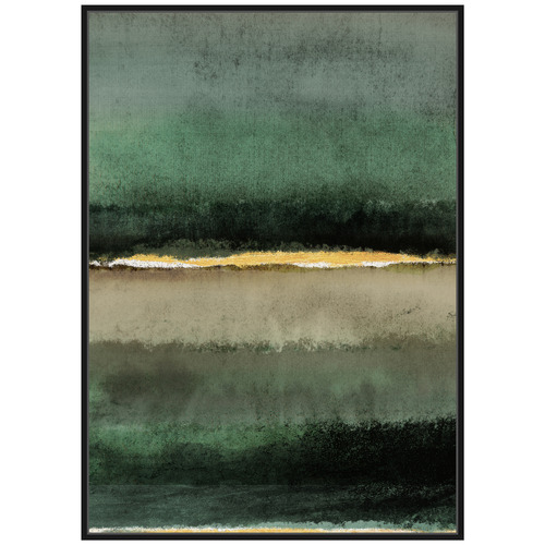 Lifestyle Traders Juniper Abstract Framed Canvas Wall Art