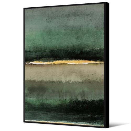 Juniper Abstract Framed Canvas Wall Art