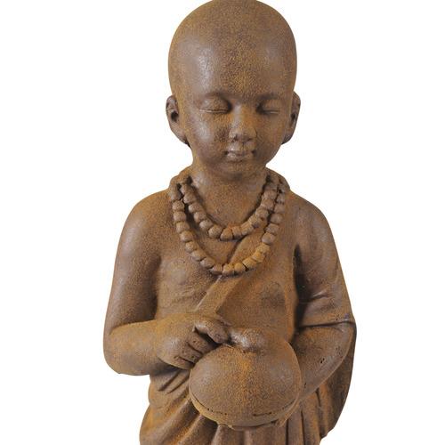 Lifestyle Traders Rust Banyu Standing Buddha Statue