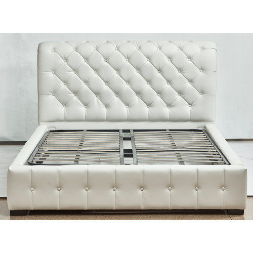 Sarah gas lift storage bed temple webster Fine home furniture bedding pty ltd