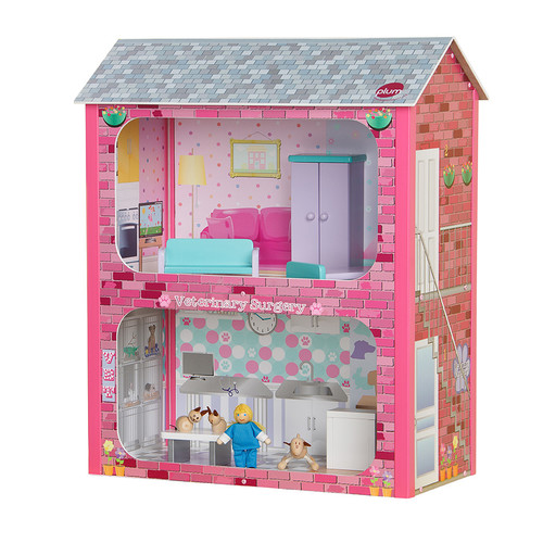 Plum Camden Dolls House