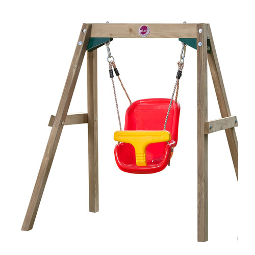 Plum 2 Piece Baby Swing Set