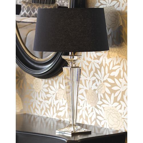 Viore Design Porter Rhodes Table Lamp - Black Linen
