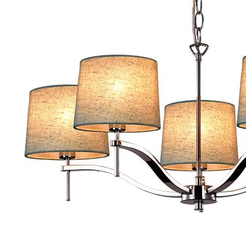 Viore Design Grace 5 Light Chandelier