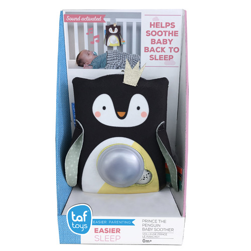 Taf Toys Prince Penguin Baby Soother