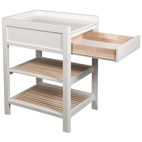 Troll 2 Tone Lukas Birch Wood Baby Change Table