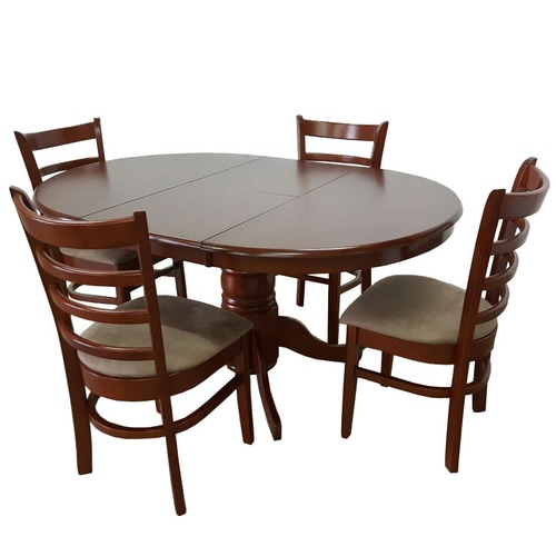 By Designs Bennett 4 Seater Extendable Dining Table Set Reviews