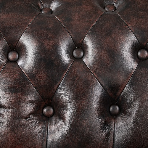 By Designs 3 seater Max Chesterfield Leather Sofa