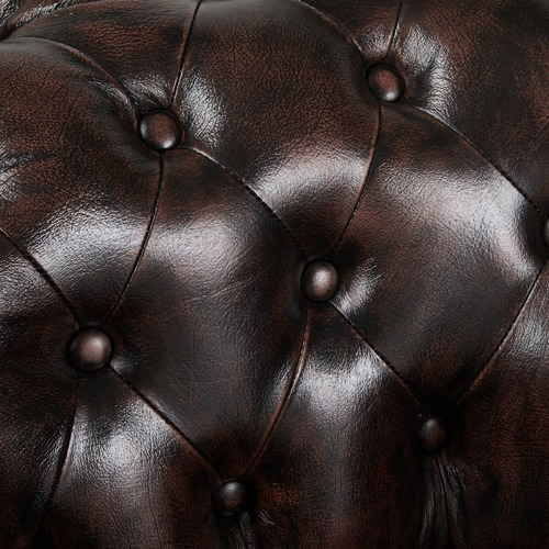By Designs Single seater Max Chesterfield Leather Armchair