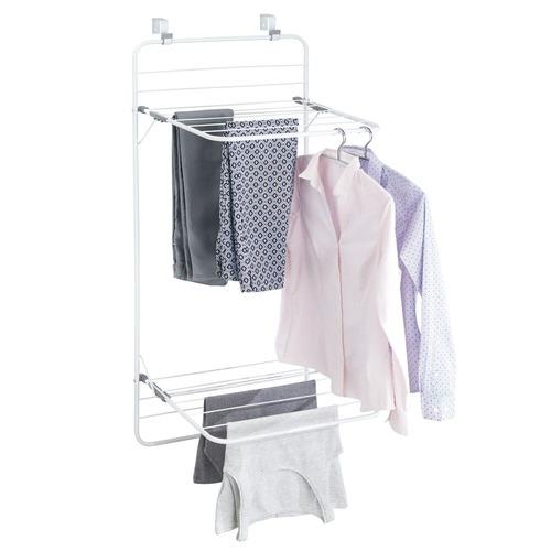 InterDesign Over-The-Door Steel Clothes Rack