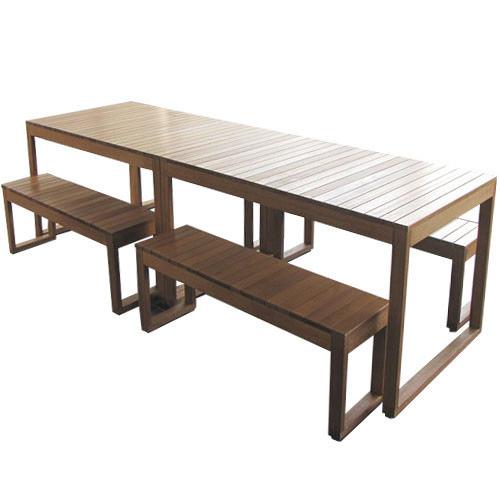 Beccali Furniture 8 Seater Large Exemplar Outdoor Table Set