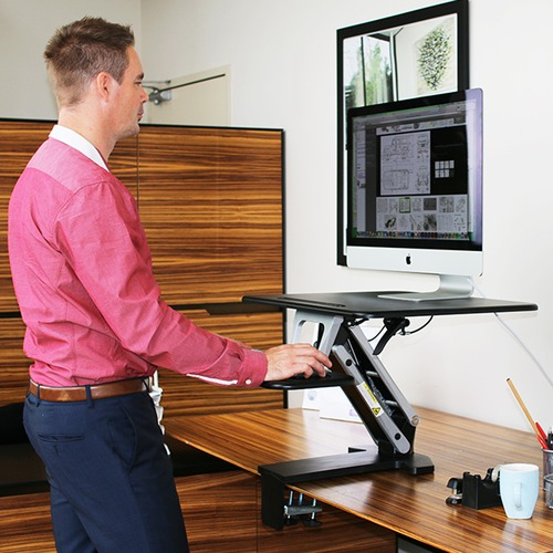 Office Fleet Arise Compulator Desk Clamp