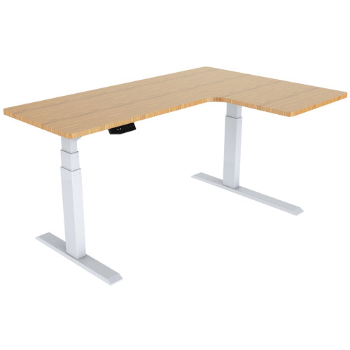 By Designs Adjustable Basix Corner Desk Base