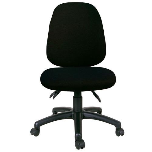 Office Fleet Black Heino Mid-Back Office Chair