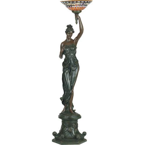 G & G Brothers Greek Goddess Floor Lamp